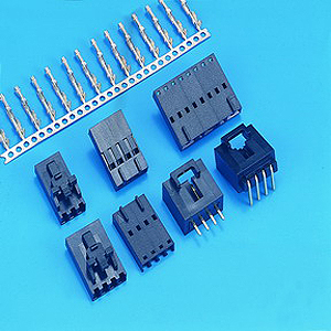 "0.100""(2.54mm) Pitch Single Row Headers - Wafer Connector"