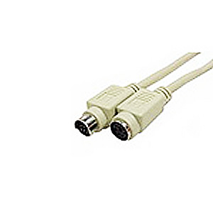 Cable, PS/2 Keyboard/Mouse Ext., MiniDin6 M/F